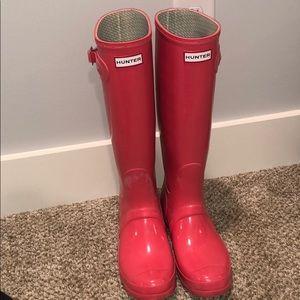 Hunter Rain Boots UK 7 US 8M/9F EU 40/41